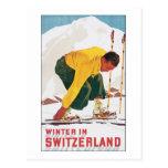 Winter In Switzerland Postcards
