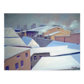 """Winter in Tallinn"" Postcard"