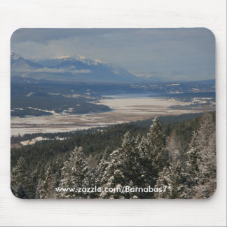 Winter in the Columbia Valley Mouse Pad