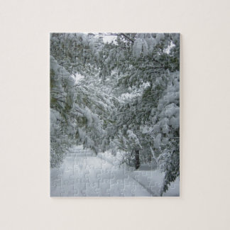 Winter in the Forest Jigsaw Puzzle