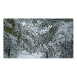 Winter in the Forest Pack Of Standard Business Cards