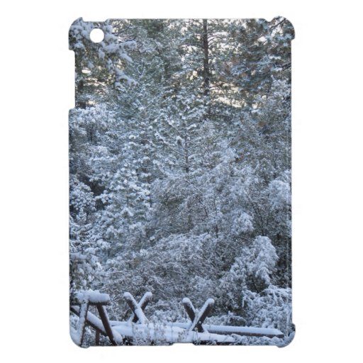 Winter in the Mountains iPad Mini Covers