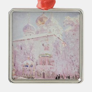 Winter in the Trinity-St. Sergius Lavra Christmas Ornament