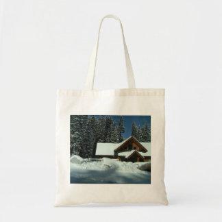 Winter in Utah Canvas Bag