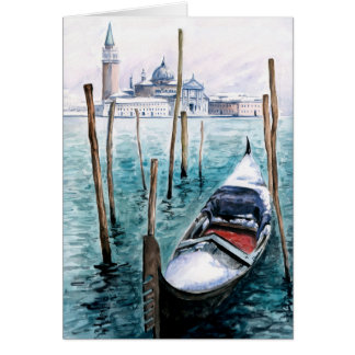 Winter in Venice Greeting Card