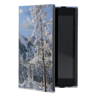 Winter in Yellowstone National Park, Wyoming Cover For iPad Mini