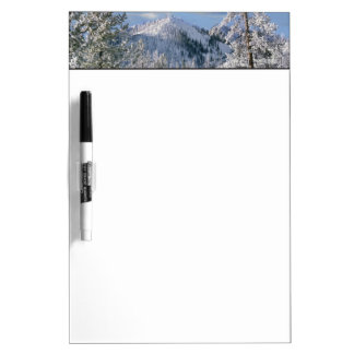 Winter in Yellowstone National Park, Wyoming Dry Erase Board