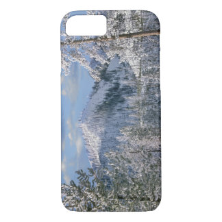 Winter in Yellowstone National Park, Wyoming iPhone 7 Case