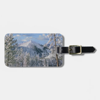 Winter in Yellowstone National Park, Wyoming Luggage Tag