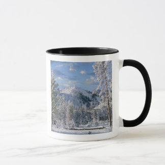 Winter in Yellowstone National Park, Wyoming Mug