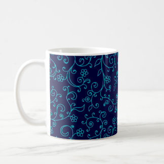 Winter ivy basic white mug