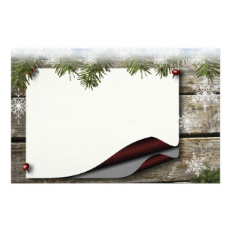 Winter Joy Stationary Stationery