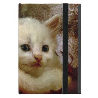 Winter Kitty Cover For iPad Mini
