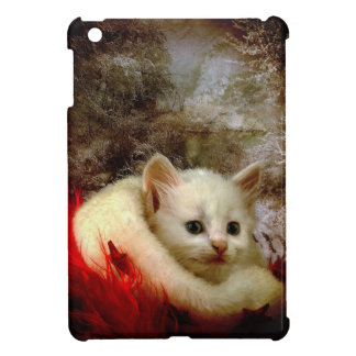 Winter Kitty iPad Mini Covers