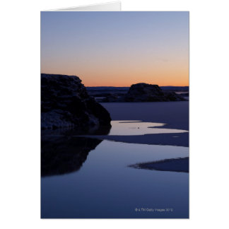 Winter, Lake Myvatn, Iceland Card