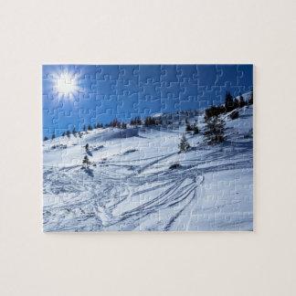 Winter land  Winter sun Puzzle