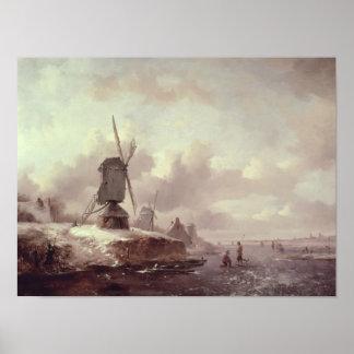 Winter Landscape 2 Poster
