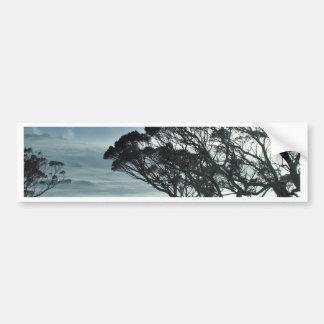 Winter Landscape Bumper Sticker
