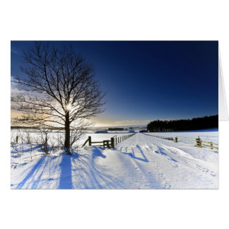 Winter Landscape Card
