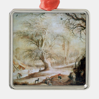 Winter Landscape Christmas Ornament