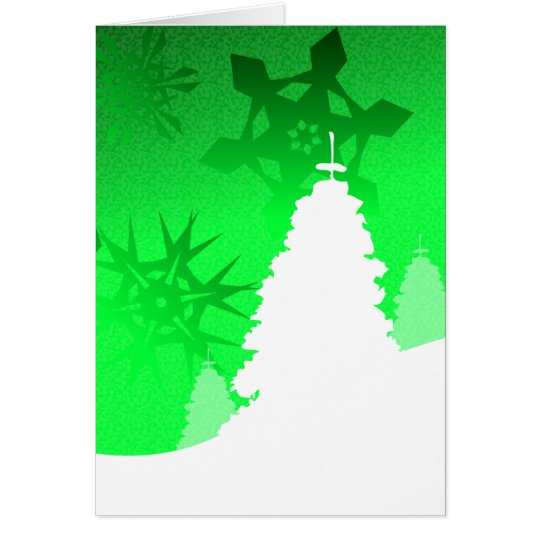 Winter Landscape - Gaelic Christmas Greeting Card