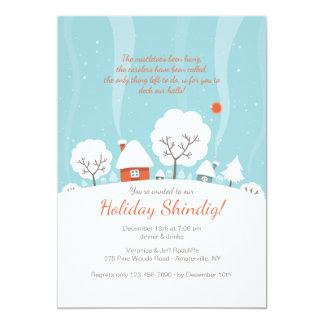 Winter Landscape Invitation