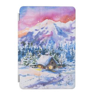 Winter landscape iPad mini cover
