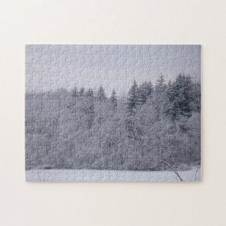 Winter Landscape Jigsaw Puzzle