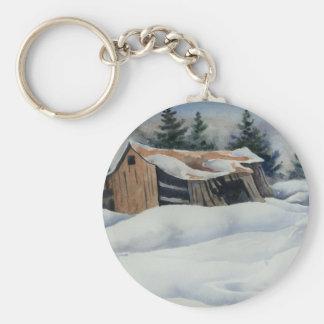 Winter Landscape Keychain