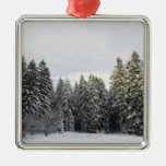 Winter Landscape near Koenigsfeld, Black Forest, Christmas Ornament