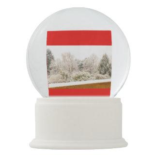 winter landscape on Snowglobe
