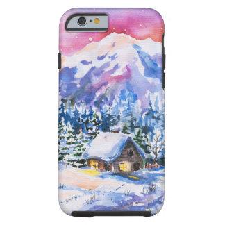 Winter landscape tough iPhone 6 case