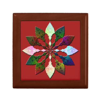 Winter Leaves Gift Box