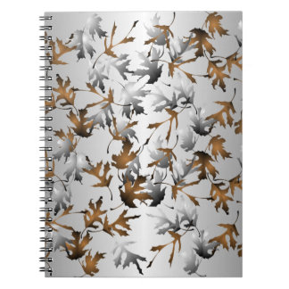 Winter Leaves Notebook