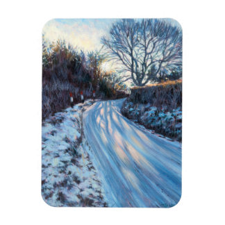 Winter Light Rectangular Photo Magnet