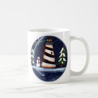 Winter Lighthouse Mug