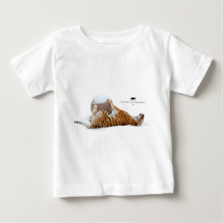 Winter Lilly - Tiger Baby T-Shirt