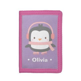 Winter Little Penguin Cute Girls Wallet