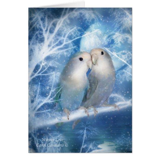 Winter Love ArtCard Card
