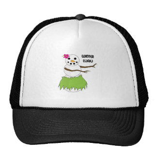 Winter Luau Mesh Hat