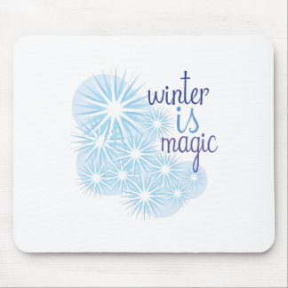 Winter Magic Mouse Pads