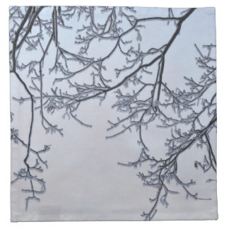 Winter magic napkin