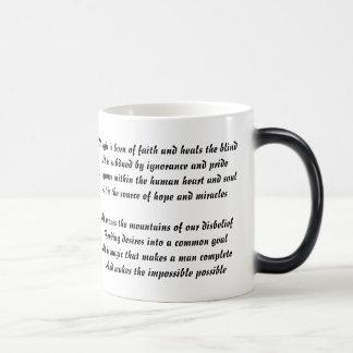 Winter Magic Poem Mug