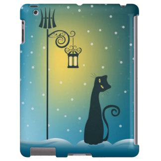 Winter Magical Christmas Cat iPad Case