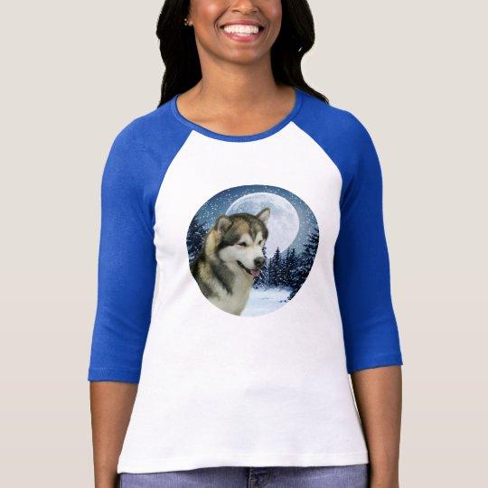 Winter Malamute Shirt