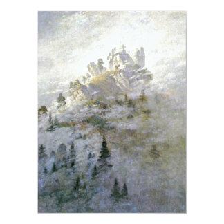 Winter Mist on the Mountain Custom Announcement