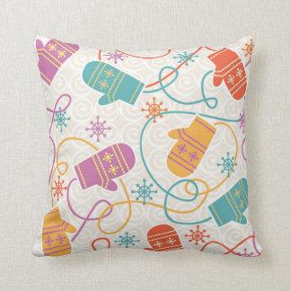 Winter Mittens Cushion