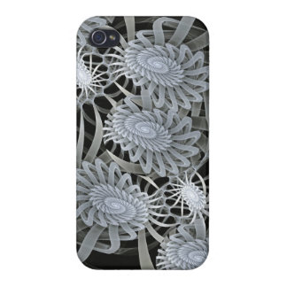 Winter mood, artistic abstract iPhone 4 cover