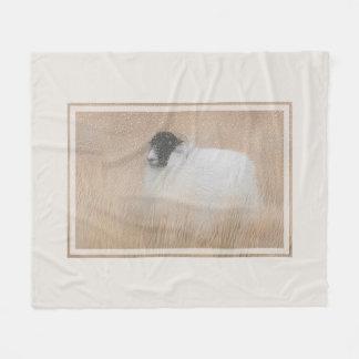 Winter Moorland sheep blanket