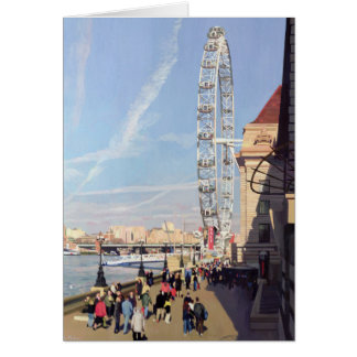 Winter morning at the London Eye Card
